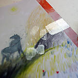 Kresby - Neviditeľný/ originál pastelkové kreslenie - 13538944_