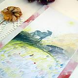 Kresby - Neviditeľný/ originál pastelkové kreslenie - 13538945_