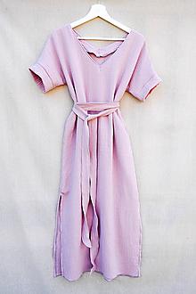 Šaty - Mušelinove šaty 2v1 - 13538521_