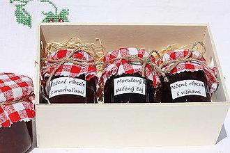 Potraviny - Svadobný dar pre novomanželov / medové týždne - 13537571_