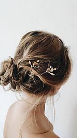 Ozdoby do vlasov - Venček botanica - 13538813_