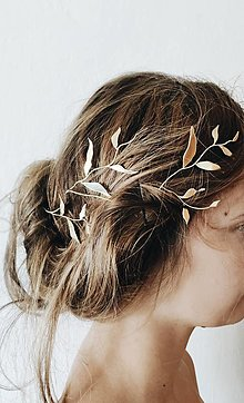 Ozdoby do vlasov - Venček botanica - 13538784_