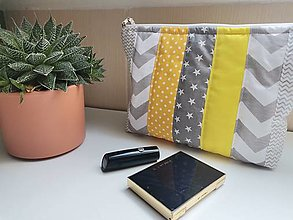 Úžitkový textil - Kozmetická taštička - 13538568_