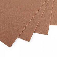 Textil - Filc 20x30 cm, hr.1 mm-biela káva - 13542140_