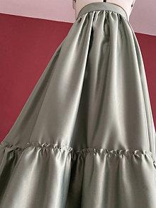 Sukne - sukňa s volánom - 13542134_