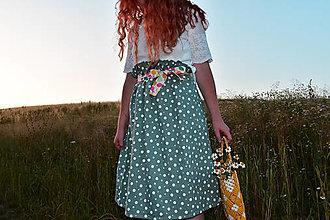 Sukne - Midi sukňa Limonáda - 13541372_