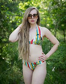 Bielizeň/Plavky - Funky stripes with Tukan plavky - 13540519_