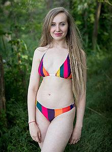 Bielizeň/Plavky - Carnivale Stripes - bikiny - 13540635_