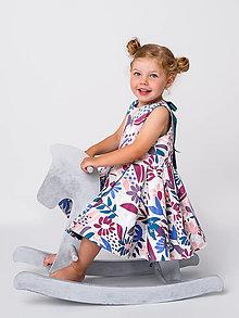 Detské oblečenie - Obojstranné šaty  - 13541415_