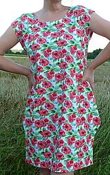 Šaty - Šaty Maliny úplet - 13543297_