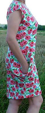 Šaty - Šaty Maliny úplet - 13543330_