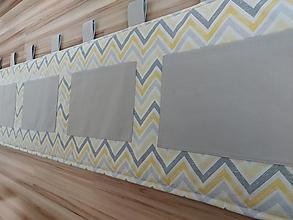 Úžitkový textil - Zástena za posteľ - 13542574_