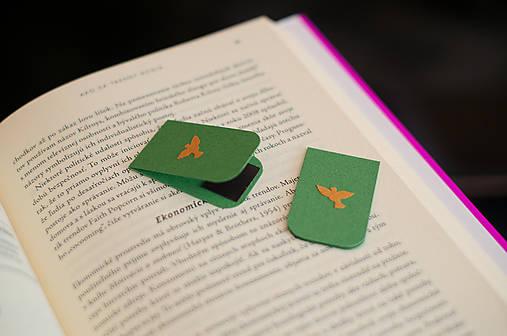 Lesné záložky - holubica
