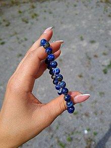 Šperky - Pánsky náramok Lapis Lazuli - 13542917_