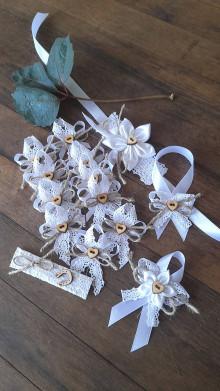 Pierka - Natur svadba v bielom - 13543841_