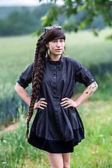 Šaty - Šaty NYMPHE punkt - 13545616_