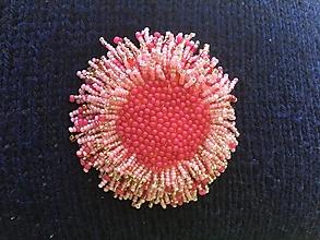 Brošne - ružová sasanka - 13545163_