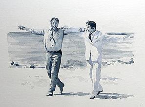 Obrazy - Grek Zorba - Teach me to dance - 13545765_