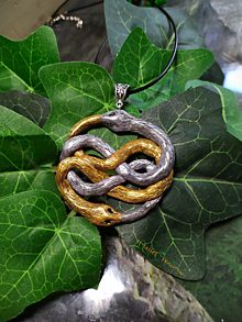 Náhrdelníky - Nekonečný príbeh, orin šperk - 13544670_