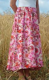 Sukne - Sukňa Ružový mix - 13547396_