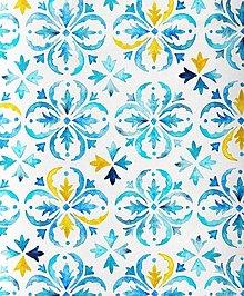 Textil - mozaika, extra kvalitný 100 % bavlnený satén, šírka 160 cm - 13547921_