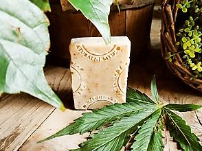 Drogéria - Prírodné konopné mydlo - 13549300_