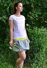 Sukne - Lovely flowers 2- VÝPRODEJ ! - 13549028_