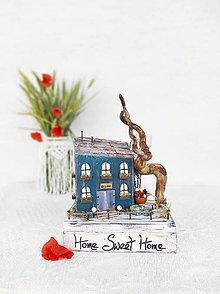 Dekorácie - Vintage domček ,,Sladký domov,, - 13550038_