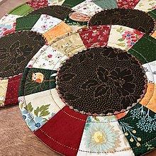 Úžitkový textil - prestierania farby jesene - 13549649_