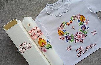 Detské oblečenie - Folk set do krstu - 13553915_