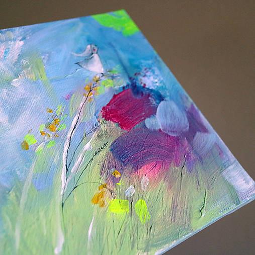 Dievča z kláskov/ maľba na plátne