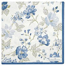 Papier - Servitka G 123- Donna blue large -novinka - 13552348_