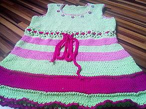 Detské oblečenie - Šatôčky - 13553276_