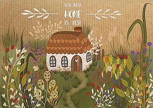Grafika - Art Print - Build a home - grafika - 13553683_