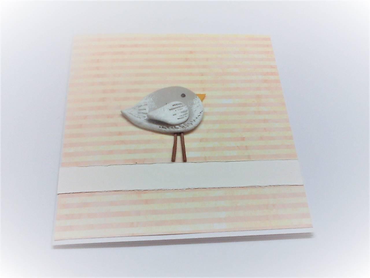 Pohľadnica ... vtáčik