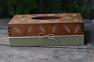 Krabičky - Zásobník na vreckovky - 13556576_