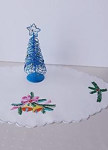 Úžitkový textil - Vianoce, ručne vyšívané, 30 x 48 cm - 13556732_