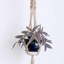 Dekorácie - Vešiak na kvetináč - 13557190_