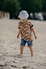 Detské oblečenie - Save the Whales boy - 13557325_