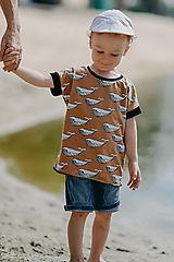 Detské oblečenie - Save the Whales boy - 13557327_