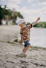 Detské oblečenie - Save the Whales boy - 13557328_