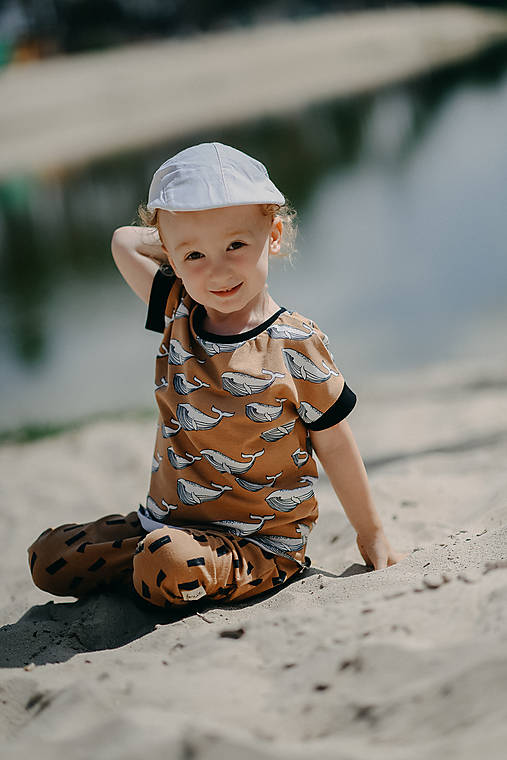 Detské oblečenie - Save the Whales boy - 13557321_