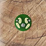 Magnetky - Kus trávy - magnetka  - 13557506_