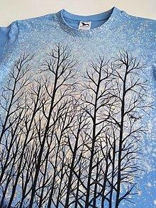 Tričká - Stromy... maľované tričko - 13559042_