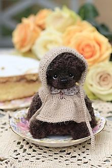Hračky - Malá medvedica Nika - 13559248_