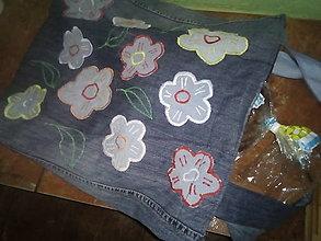 Nákupné tašky - Taška z recy rifloviny - 13559856_
