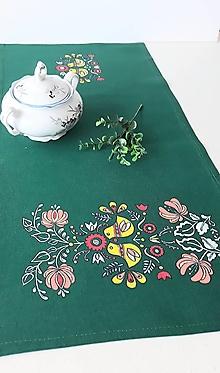 Úžitkový textil - Prestieranie maĺované, 31 x 64 cm - 13558806_