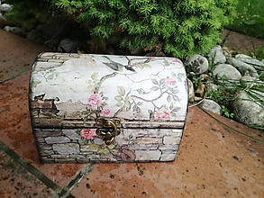 Krabičky - truhlička - 13559368_