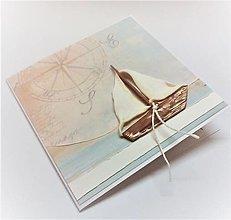 Papiernictvo - Pohľadnica ... životom plávam II - 13561508_