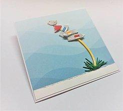 Papiernictvo - Pohľadnica ... ktorým smerom ? - 13561602_